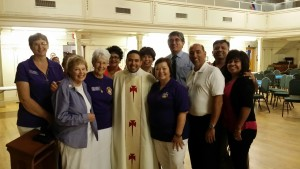 Father Alan Valencia is ordained, June 6, 2015 at St. Augustine Cathedral